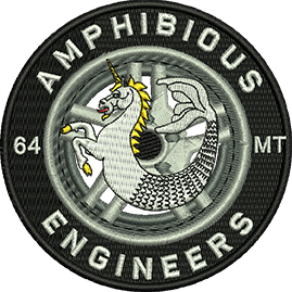 64 MT Amph Engrs Badge
