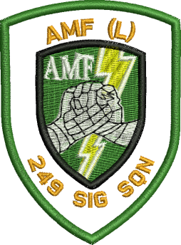 AMF - 249 SIG SQN Embroidered badge