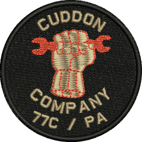 Cuddon Company Embroidered badge