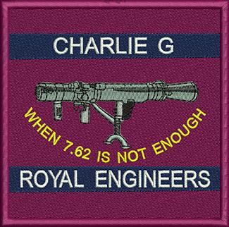 Charlie G Embroidered Polo Shirt
