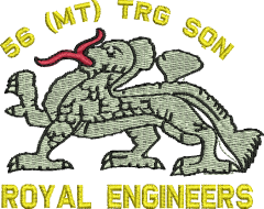 56 MT Training Sqn Embroidered Polo Shirt