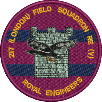 217 (London) Fd Sqn Embroidered Polo Shirt