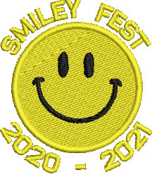 Smileyfest 2021 embroidered polo shirt