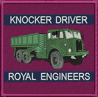 Knocker Driver Badge