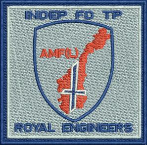 INDEP FD TP Embroidered Badge