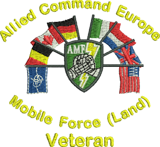 Allied Command Europe Embroidered Polo Shirt