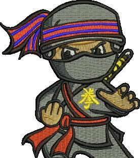 25 Fld Sqn Ninja Embroidered Polo Shirt - Reunion