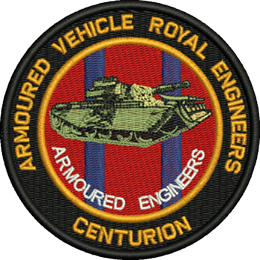 Armoured Engineers Reunion Embroidered Badge