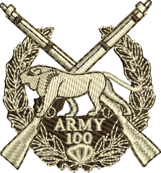 ARMY 100 Embroidered Polo Shirt