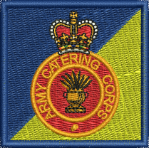 Army Catering embroidered TRF