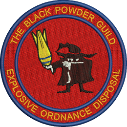 Black Powder Guild Embroidered Badge