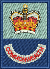 Commonwealth Embroidered Badge
