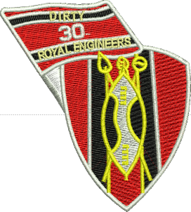 Dirty 30 Embroidered Badge