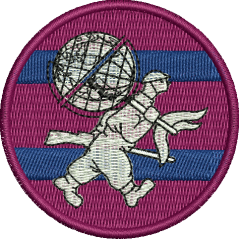 MIL GEO Embroidered badge