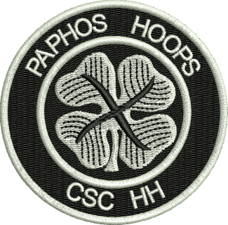 PAPHOS Embroidered Badge