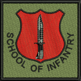 SCHOOL OF INFANTRY  TRF