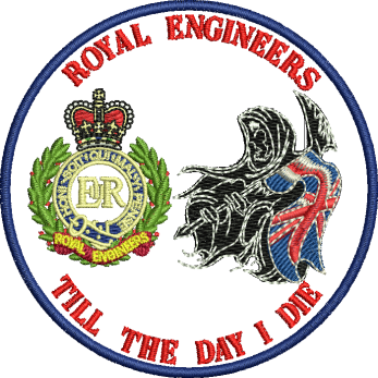 RE Till the Day I Die Embroidered Badge