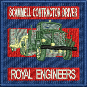 Scammell Contractor Driver Badge